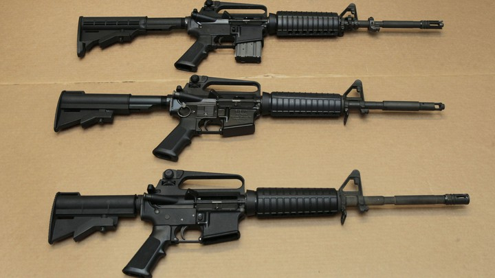 Three AR-15s