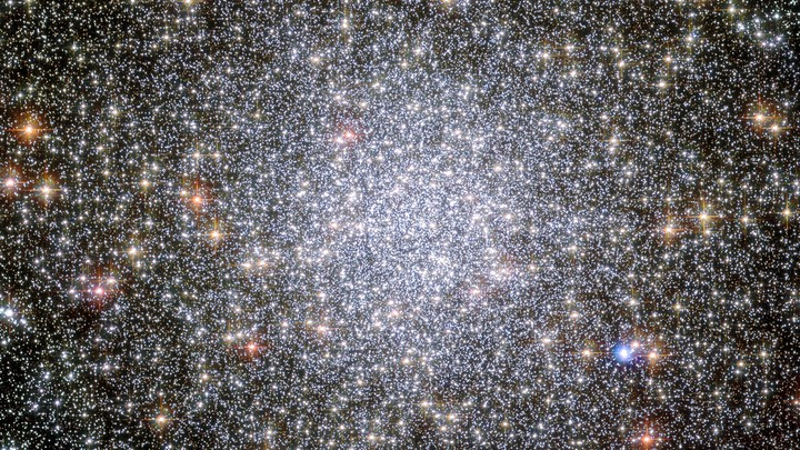 Astronomers say there's a medium-sized black hole hiding inside the globular star cluster 47 Tucanae, the second-brightest of its kind in the night sky.